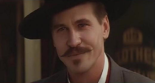 Doc Holliday Val Kilmer Wallpaper Image