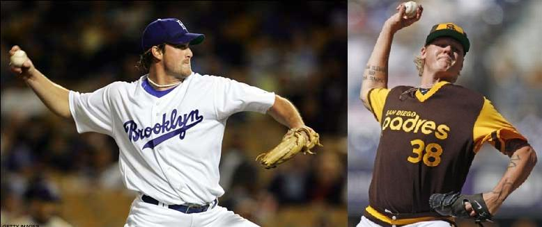 Throwback Uniforms  Padres vs. Dodgers  16499482277