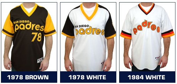 info for a8fa3 55a4c Throwback Uniforms: Padres vs. Dodgers