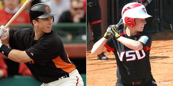 buster posey sister. catcher Buster Posey#39;s