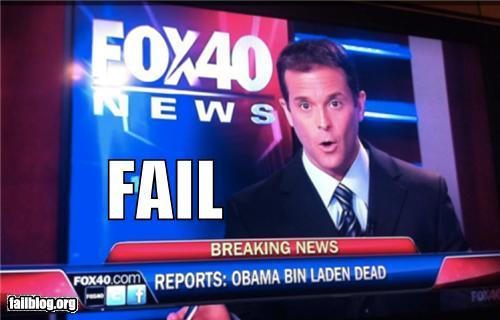 Fox Newsquot Obama Bin Laden Dead. in laden news. Obama Bin