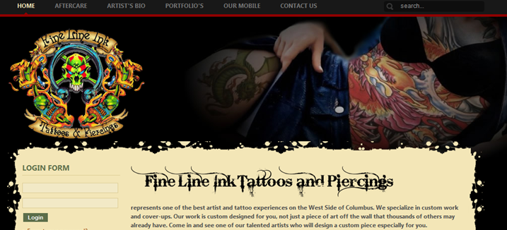 Ohio State Tattoo Parlor Specializing In Cover Ups Lobshots